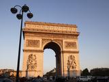 Arc De Triomphe, Paris, France, Europe Photographic Print by  Godong