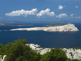 View over Islands in the Kvarner Gulf, Kvarner Gulf, Croatia, Adriatic, Europe Photographic Print by Stuart Black