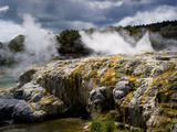 Whakarewarewa Thermal Reserve, North Island, New Zealand, Pacific Photographic Print by Ben Pipe