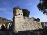 Citadelle St. Elme (St. Elme Citadel), Villefranche Sur Mer, Cote D'Azur, French Riviera, Provence, Photographic Print by Wendy Connett