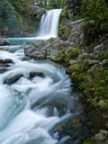 Tawhai Falls, Tongariro National Park, UNESCO World Heritage Site, North Island, New Zealand, Pacif Photographic Print by Ben Pipe