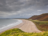 Rhossili Bay on the Gower Peninsula, Wales, United Kingdom, Europe Photographic Print by Julian Elliott