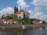 The Town of Meissen, Saxony, Germany, Europe Photographic Print by Michael Runkel