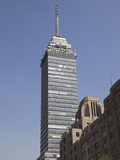 Latin American Tower (Torre Latinoamericana), Historic District, Mexico City, Mexico, North America Photographic Print by Wendy Connett