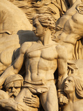 The Resistance by Antoine Etex, Dating from 1814, Sculpture on the Arc De Triomphe, Paris, France,  Photographic Print by  Godong
