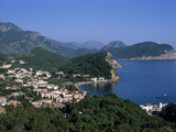 View over Resort, Petrovac, the Budva Riviera, Montenegro, Europe Photographic Print by Stuart Black