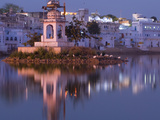 Pushkar Lake, Rajasthan, India, Asia Photographic Print by Ben Pipe