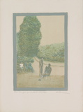 Parc Monceau, Paris Limited Edition by Harold Altman