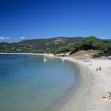 Palombaggia Beach, Near Porto Vecchio, Southeast Coast, Corsica, France, Mediterranean, Europe Photographic Print by Stuart Black