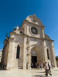 Katedrala Sv. Jakova (St. James Cathedral), UNESCO World Heritage Site, Sibenik, Dalmatia Region, C Photographic Print by Emanuele Ciccomartino
