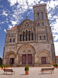The Basilica of St. Magdalene, UNESCO World Heritage Site, Vezelay, Yonne, Burgundy, France, Europe Photographic Print by Julian Elliott