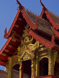 Facade of Wat Phra Singh Temple, Chiang Mai, Chiang Mai Province, Thailand, Southeast Asia, Asia Photographic Print by Ben Pipe