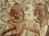 Detail from Tomb, El Kab Temple, Egypt, North Africa, Africa Photographic Print by  Tuul