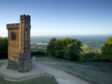 Leith Hill Tower, Highest Point in South East England, View Sout on a Summer Morning, Surrey Hills, Photographic Print by John Miller