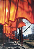 The Gates Project for Central Park, New York Collectable Print by  Christo