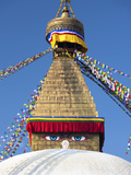 Bodhnath Stupa (Boudhanth) (Boudha), One of the Holiest Buddhist Sites in Kathmandu, UNESCO World H Photographic Print by Lee Frost