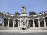 Hemiciclo a Juarez (Benito Juarez Monument), Alameda, Mexico City, Mexico, North America Photographic Print by Wendy Connett