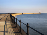 Roker Pier and Lighthouse, Sunderland, Tyne and Wear, England, United Kingdom, Europe Photographie par Mark Sunderland