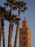Minaret of the Koutoubia Mosque, Marrakesh, Morocco, North Africa, Africa Photographic Print by Frank Fell