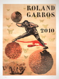 Roland Garros, 2010 Collectable Print by Nalini Malani