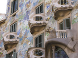 Facade of Casa Batlo, UNESCO World Heritage Site, Barcelona, Catalonia, Spain, Europe Photographic Print by Ben Pipe