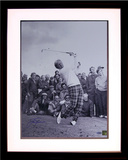 Jack Nicklaus - B&W Iron Swing Follow Through Framed Memorabilia
