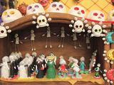 Day of the Dead Folk Art, Oaxaca City, Oaxaca, Mexico, North America Fotografie-Druck von Wendy Connett