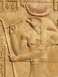 Bas Relief, Temple of Sobek and Haroeris, Kom Ombo, Egypt, North Africa, Africa Photographie par  Tuul