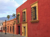 Colonial Architecture, Oaxaca City, Oaxaca, Mexico, North America Photographic Print by Wendy Connett