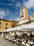 Narodni Trg (Narodni Square), Zadar, Zadar County, Dalmatia Region, Croatia, Europe Photographic Print by Emanuele Ciccomartino