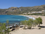 Beach View, Paleohora, Chania Region, Crete, Greek Islands, Greece, Europe Photographic Print by Stuart Black