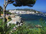 Calella De Palafrugell and Cap De St. Sebastia, Costa Brava, Catalonia, Spain, Mediterranean, Europ Photographic Print by Stuart Black