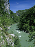 Tara Canyon and Tara River, Tramontana, Montenegro, Europe Photographic Print by Stuart Black