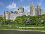 Pembroke Castle in Pembroke, Pembrokeshire, Wales, United Kingdom, Europe Photographic Print by David Clapp