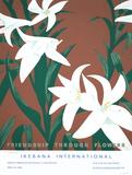 Alex Katz - Friendship Through Flowers, Ikebana International - Serigrafi