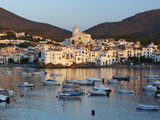 Harbour and Town, Cadaques, Costa Brava, Catalonia, Spain, Mediterranean, Europe Photographic Print by Stuart Black