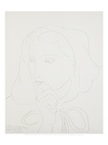 Potrait de Femme en Capuchon Posters by Henri Matisse