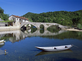Rijeka Crnojevica River and the Ancient Triple Arched Bridge, Rijeka Crnojevica, Montenegro, Europe Photographic Print by Stuart Black