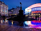 Piccadilly Circus, London, England, United Kingdom, Europe Fotografisk tryk af Ben Pipe