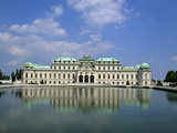 Belvedere Palace, UNESCO World Heritage Site, Vienna, Austria, Europe Photographic Print by Stuart Black
