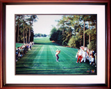 Jack Nicklaus - 1986 Masters 18th Hole Tee Shot Framed Memorabilia