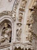 Medieval Carvings of Signs of the Zodiac, North Porch, Chartres Cathedral, UNESCO World Heritage Si Photographic Print by Nick Servian