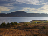 A View across the Sound of Sleat Towards the Scottish Mainland from Kylerhea, Isle of Skye, Inner H Lámina fotográfica por Jon Gibbs