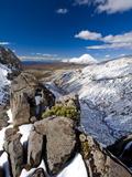 Mount Ngauruhoe, Tongariro National Park, UNESCO World Heritage Site, North Island, New Zealand, Pa Photographic Print by Ben Pipe