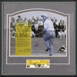 "Jack Nicklaus - ""Winning"" Framed Memorabilia"