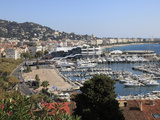 Harbor, Cannes, Alpes Maritimes, Cote D'Azur, French Riviera, Provence, France, Europe Photographic Print by Wendy Connett