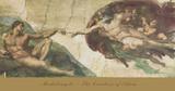 The Creation of Adam Plakater af  Michelangelo