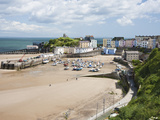 Tenby Harbour, Tenby, Pembrokeshire, Wales, United Kingdom, Europe Photographic Print by David Clapp