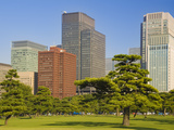 View of City Centre from Imperial Plaza, Tokyo, Japan, Asia Photographic Print by Ben Pipe