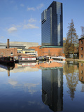 Gas Street Canal Basin, Birmingham, West Midlands, England, United Kingdom, Europe Photographic Print by Chris Hepburn